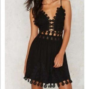 COPY - Embroidered Mini Dress